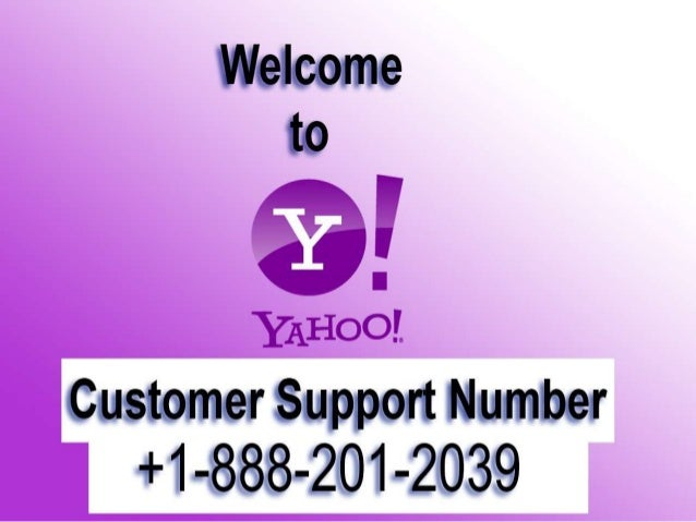 1-888-201-2039 Yahoo Tech Support Number
