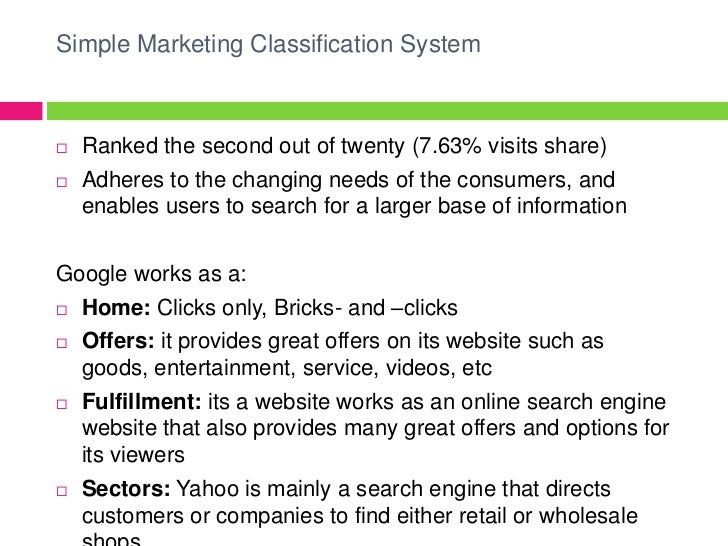 Consumer yahoo case study