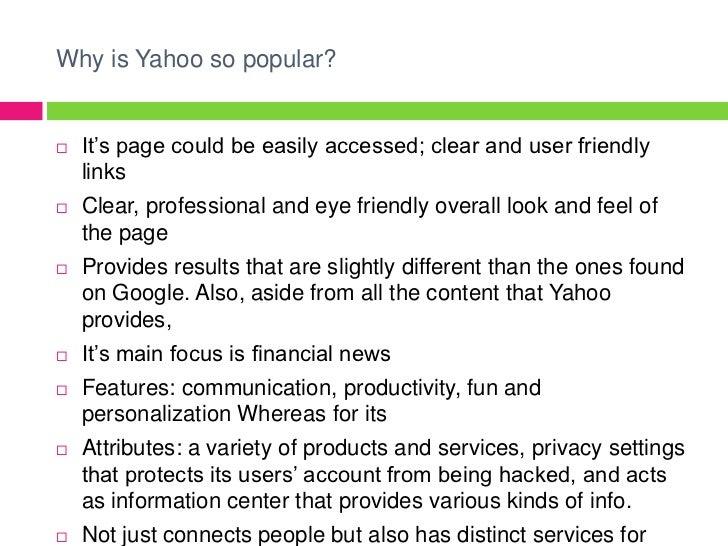 Yahoo presentation 6 why is yahoo toneelgroepblik Image collections