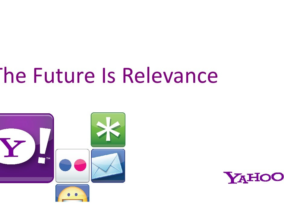 The Future Is Relevance