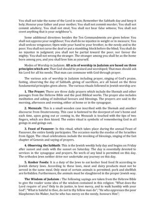Pengantar Pengenalan Sejarah Agama Yahudi