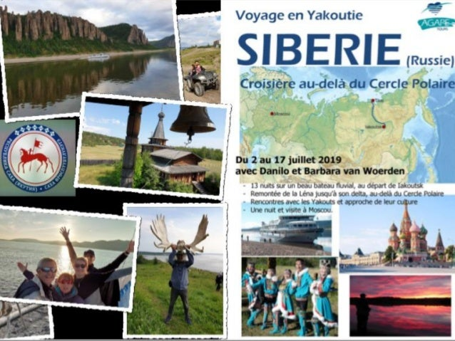 Yakoutie 2019 agape tours