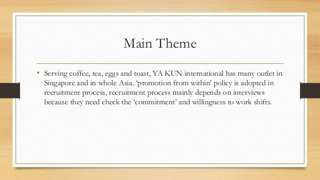case study ya kun kaya toast