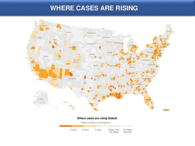 WHERE CASES ARE RISING