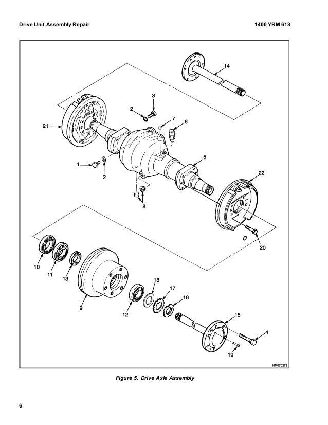 Yale (a814) erc030 040 ag lift truck service repair manual