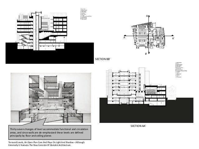 Yale Art Architecture Building Case Study on Modular Church Buildings Floor Plans
