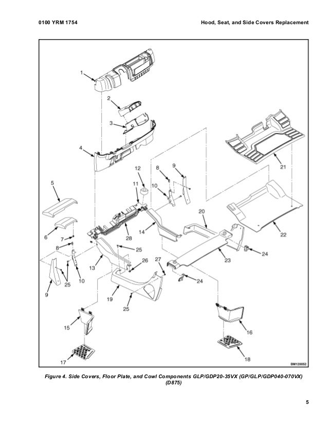 Yale C910 Glc20 Vs Lift Truck Service Repair Manual