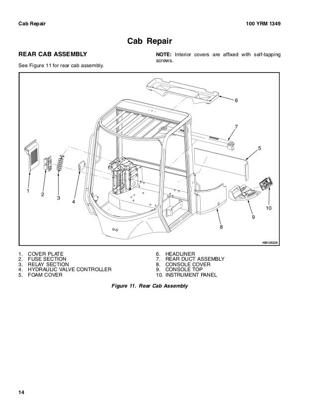 Yale d876 gdp80 db lift truck (europe)service repair manual