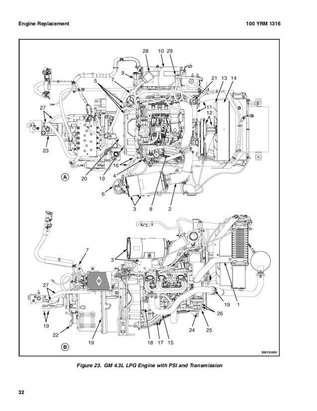 Yale D879 Gdc60 Vx Lift Truck Europe Service Repair Manual