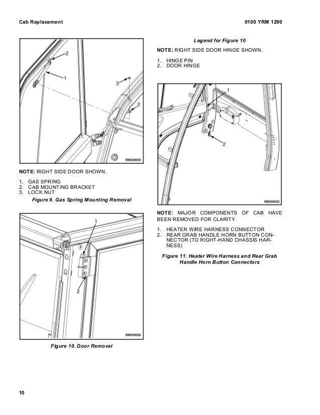 Yale h813 gdp50 vx lift truck (europe) service repair manual