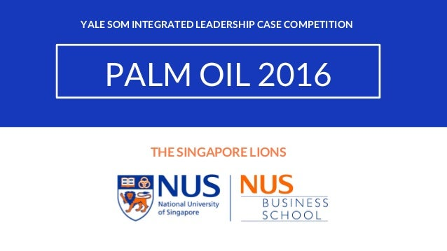Yale Integrated Leadership Case Competition 2016