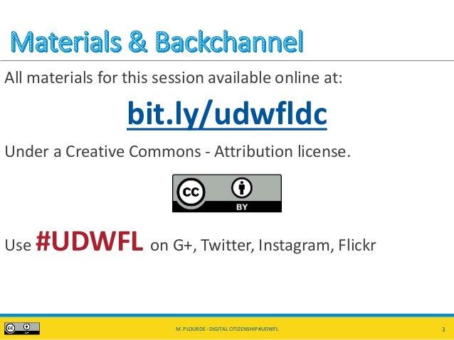 Digital Citizenship, Activism, and Social Media #UDWFL Slide 3