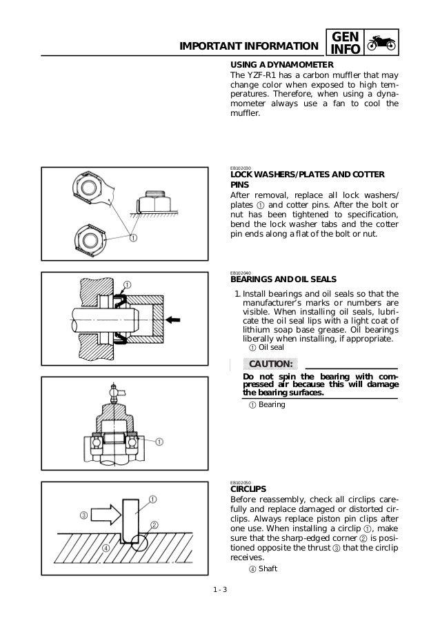 yamaha 1998 yzfr1 service manual rh slideshare net 1997 Yamaha R1 2001 Yamaha R1