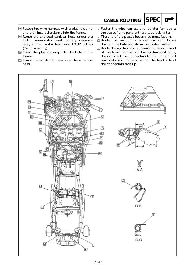 yamaha-1998-yzfr1servicemanual-62-638 Yamaha Engine Battery Wiring on