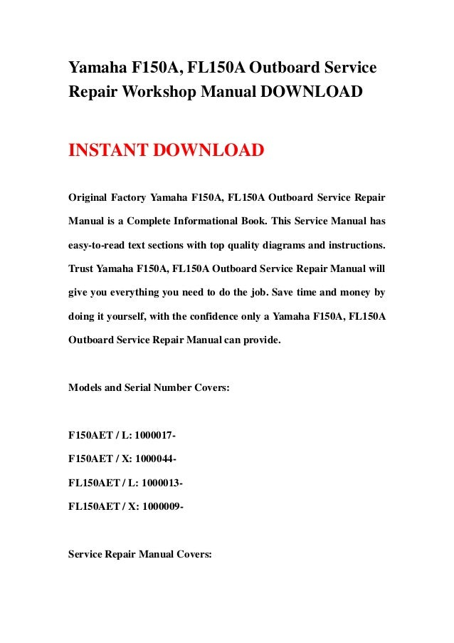yamaha z200n lz200n z200y lz200y outboard service repair manual instant download