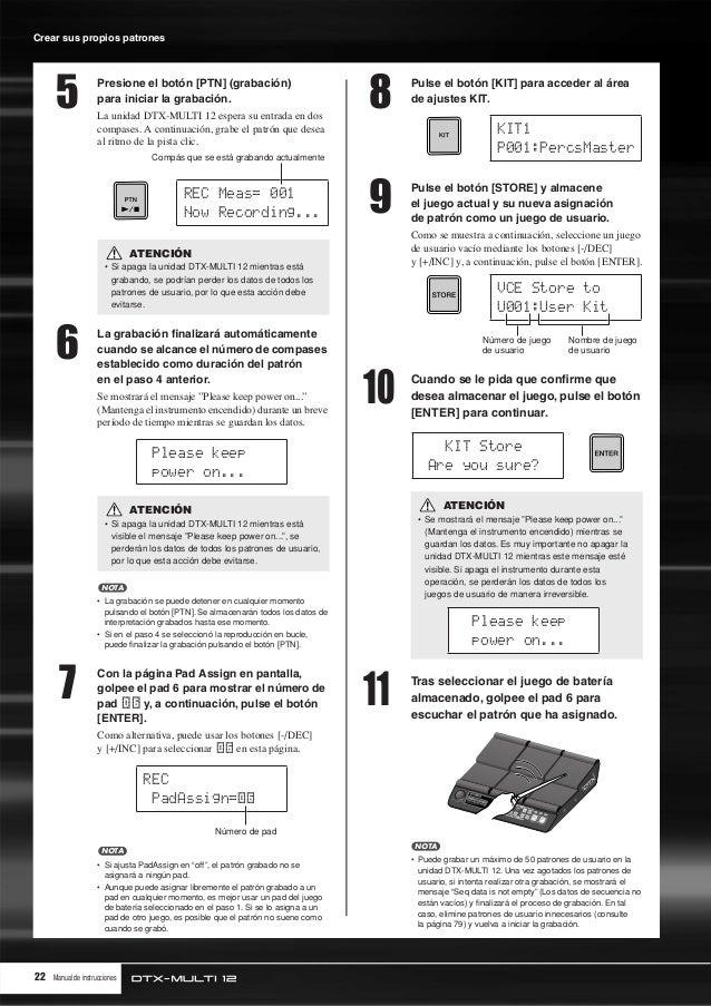 yamaha dtx multi 12 manual