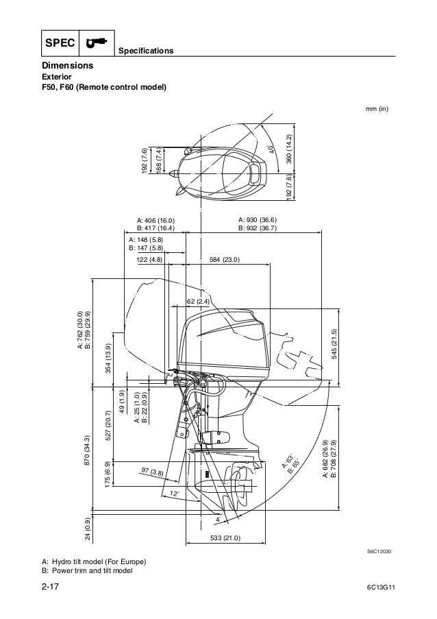 Yamaha outboard f50 fed service repair manual sn1000001