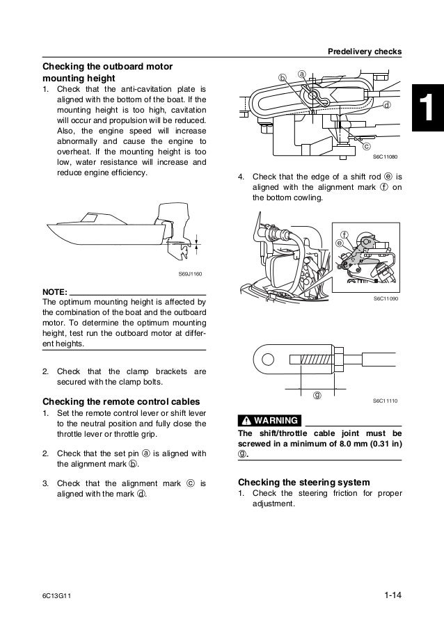 Yamaha outboard f60 cet service repair manual sn1000001 on