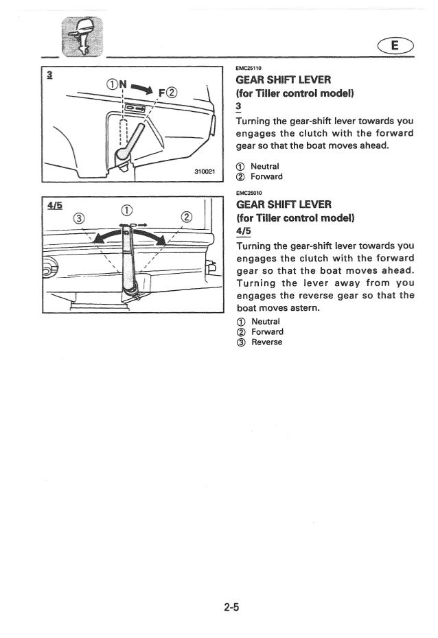 Yamaha outboards manual
