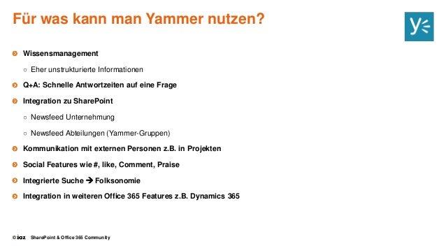 Yammer unstrukturierte kommunikation und diskussion f rdern - Yammer office 365 integration ...