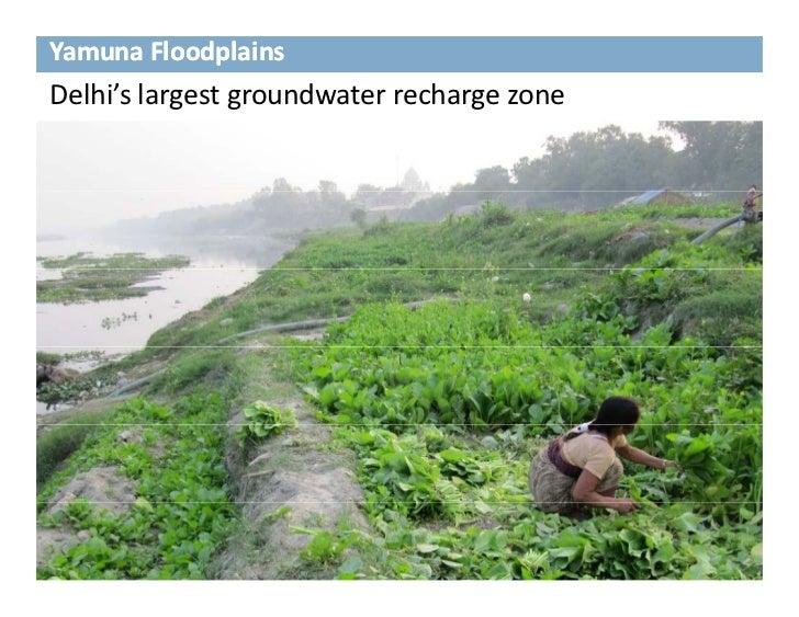 YamunaFloodplainsDelhi'slargestgroundwaterrechargezone