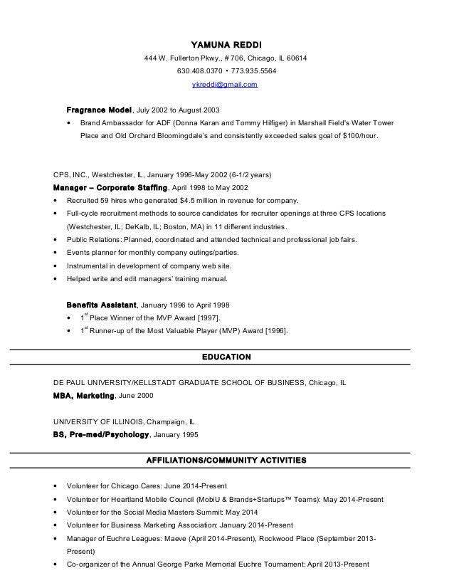 brand ambassador job description for resume images resume format