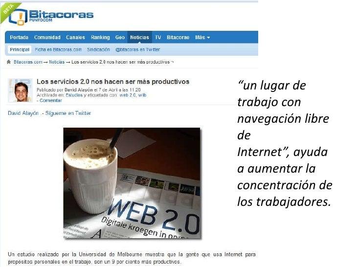 The long tail Más usuarios, mejor servicio Gratuidad Confianza en el usuario Plataforma de servicios Lectura / escritura R...