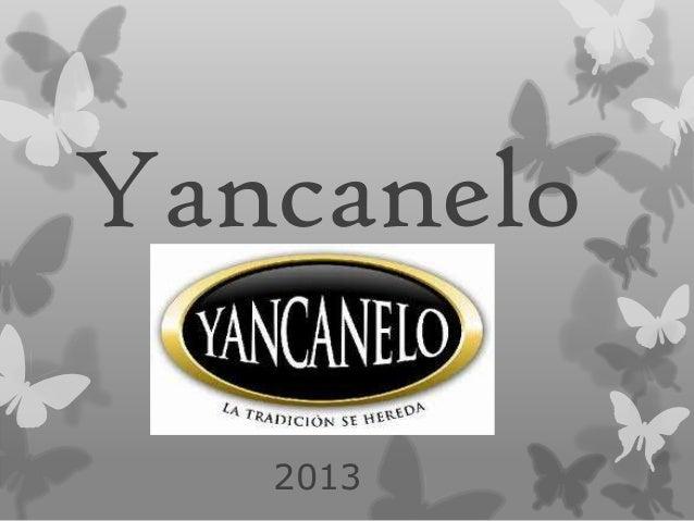 Yancanelo 2013