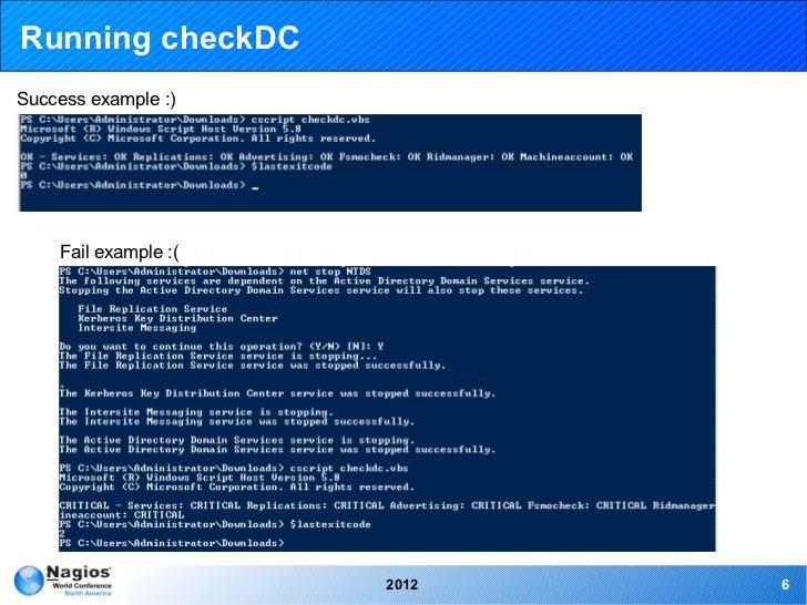 Nagios Conference 2012 - Yancy Ribbens - Windows Advanced Monitoring …