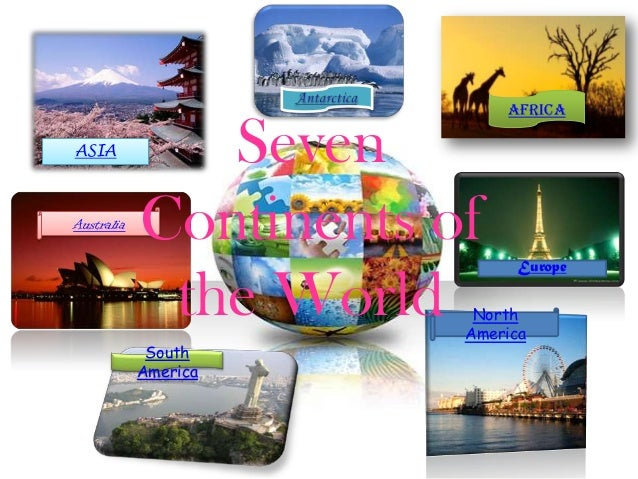 AfricaASIA           SevenAustralia            Continents of                              Europe             the World   N...