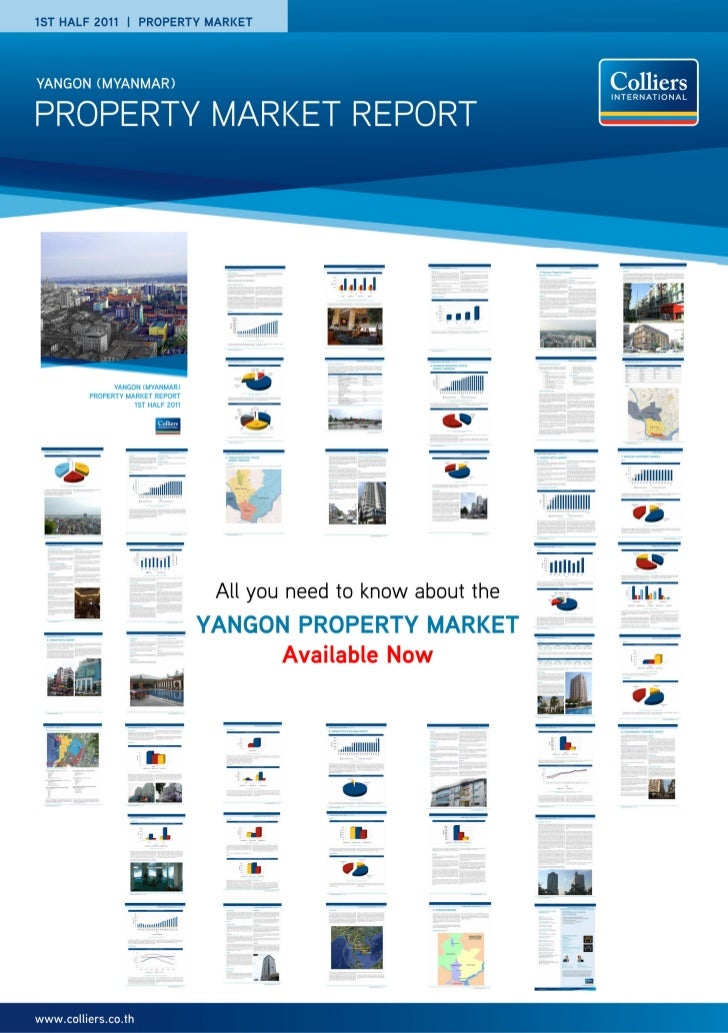 Order FormYangon Property Market Report1st Half 2011by Colliers International Thailand                                    ...