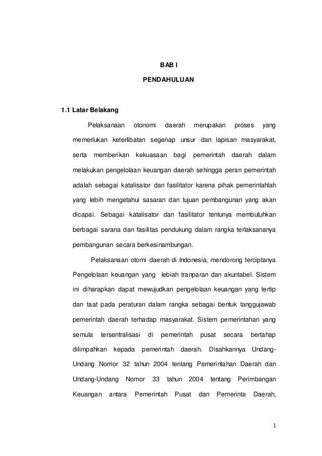 Contoh Tesis Akuntansi Pemerintahan Contoh Soal Dan Materi Pelajaran 2