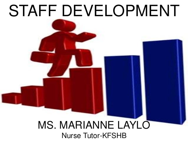 staff development In practice, staff development and professional development overlap training that tries to remain job-specific must deal with broader issues relevant to the profession as a whole.