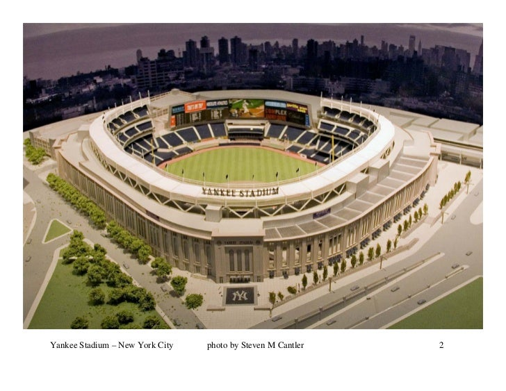 Yankee Stadium – New York City   photo by Steven M Cantler   2