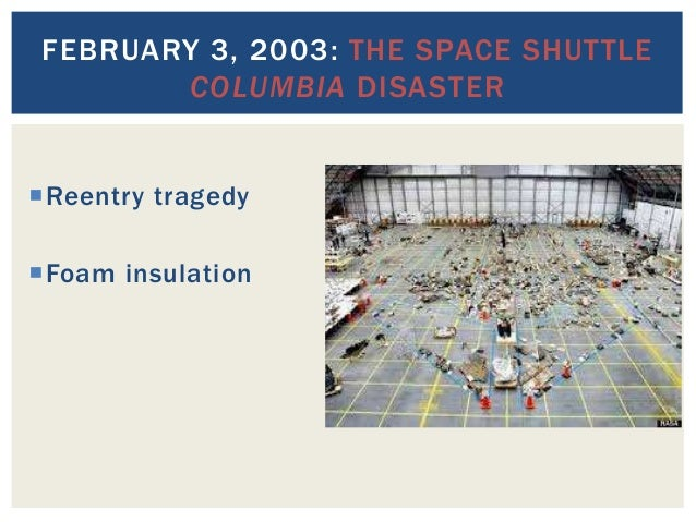 space shuttle columbia aftermath - photo #34