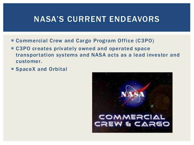 The future of NASA and other space progams: what's next?
