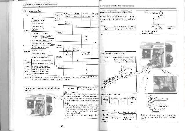 Yanmar Generator Diagram Wiring Library
