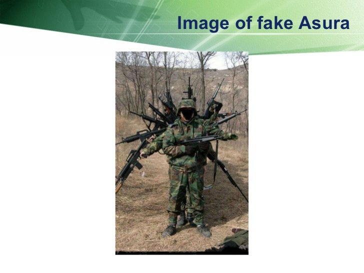 Image of fake Asura