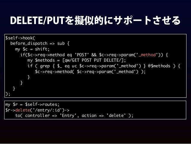helperでFillInFormをお手軽に # Uranai::Web $self->helper( render_fill => sub { my ($self, $name) = @_; my $html = $self->render(...