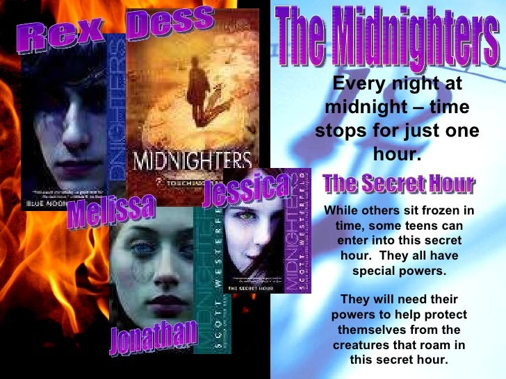 Every night at midnight – time stops for just one hour. While others sit frozen in time, some teens can enter into this se...