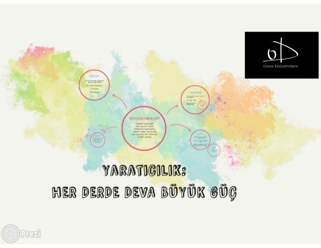 Yaratıcılık: Her Derde Deva Büyük Güç Slide 2