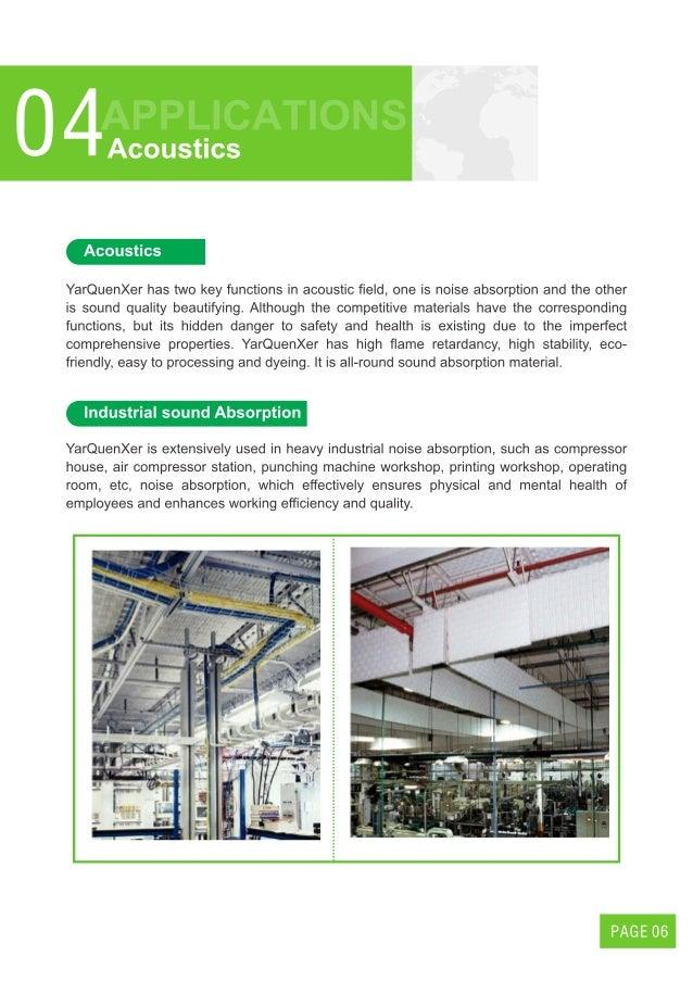 Yarquenxer Melamine Foam brochure