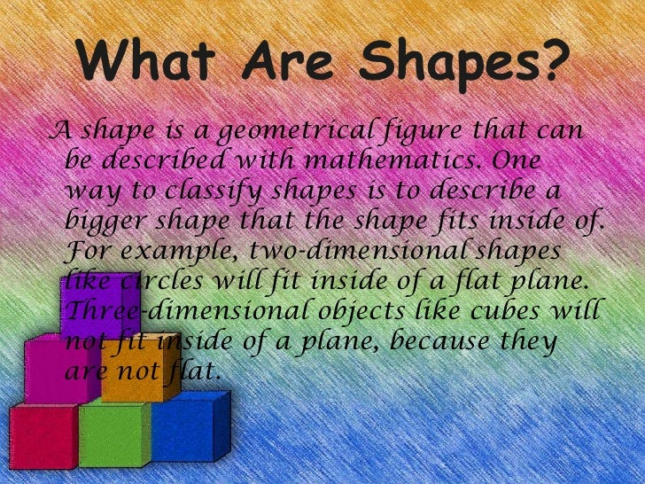 visualising solid shapes ppt