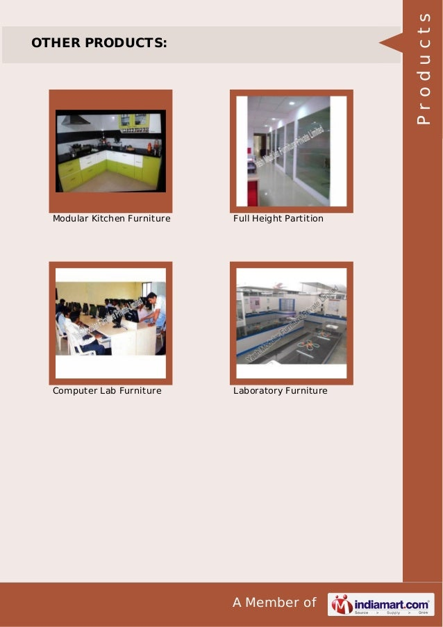 Products  OTHER PRODUCTS:  Modular Kitchen Furniture  Full Height Partition  Computer Lab Furniture  Laboratory Furniture ...
