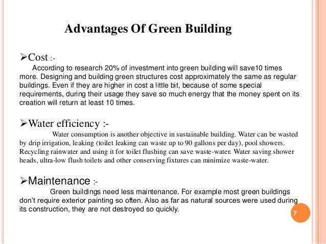 health benefits of green buildings