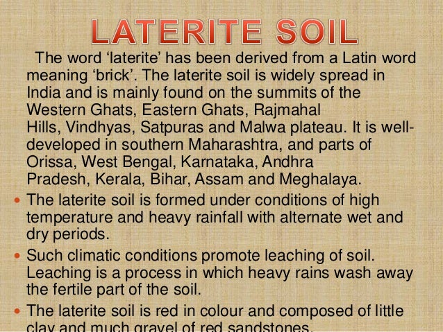 Red soil in tamilnadu for Pictures of different types of soil with their names