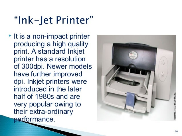 Printers Its Types
