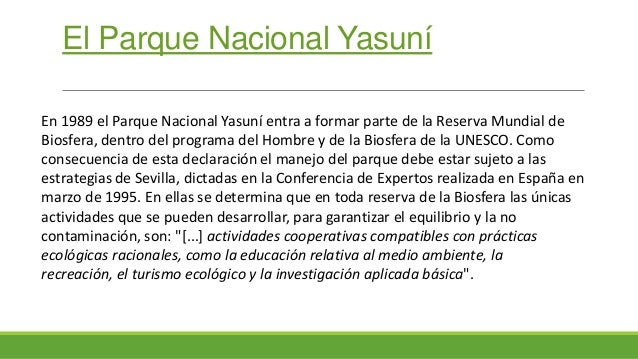 Yasuni Slide 2