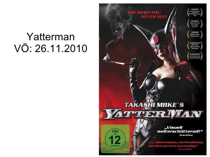 Yatterman VÖ: 26.11.2010