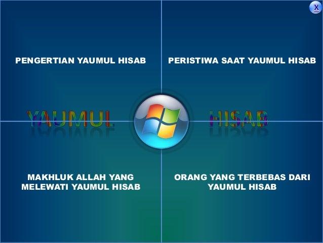 Yaumul hisab dirasah islamiah Slide 2